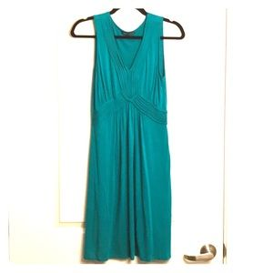 Cable Gauge Dress Small Teal Braids